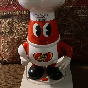 💋VINTAGE GOURMET JELLY BELLY BEAN DISPENSER 💋